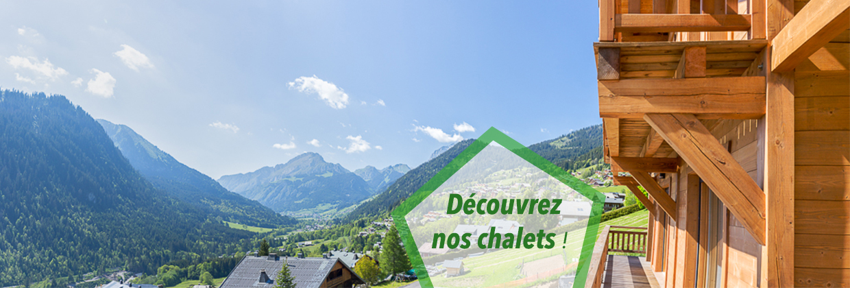 chalets et grands appartements