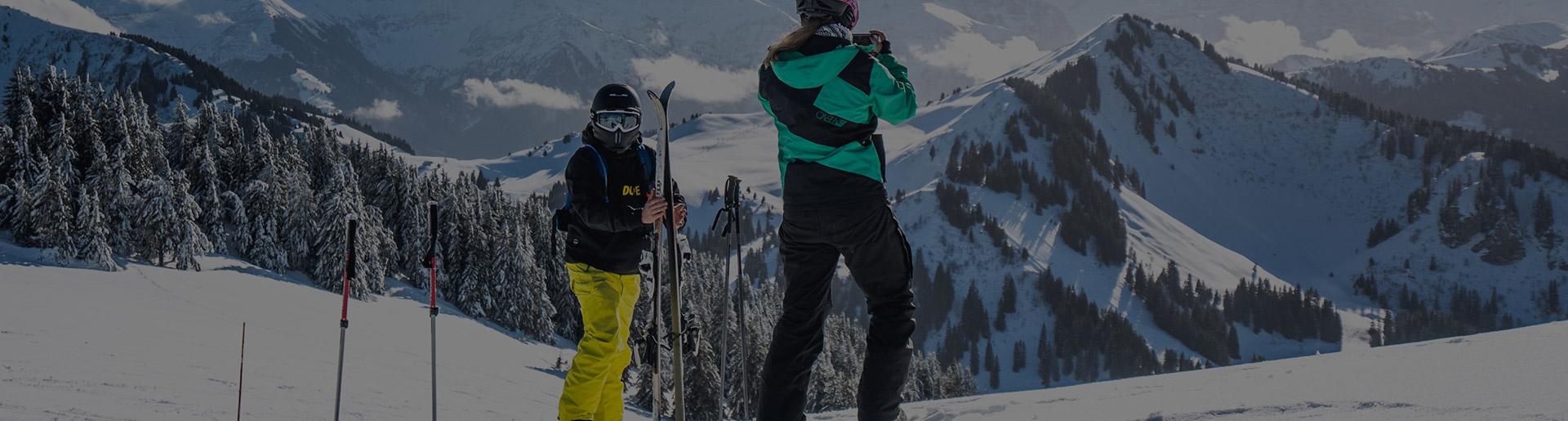Happy to ski in Chatel resort