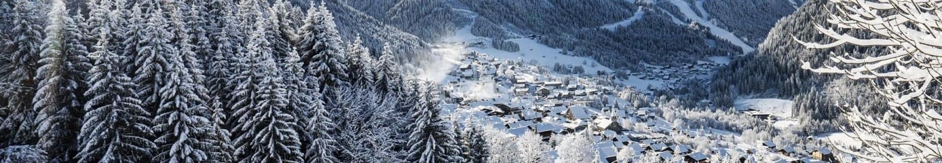 L'hiver à Châtel France