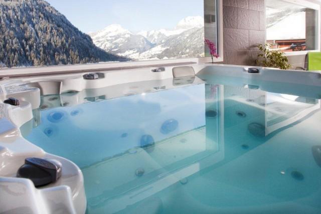 Hotel with sauna, jacuzzi