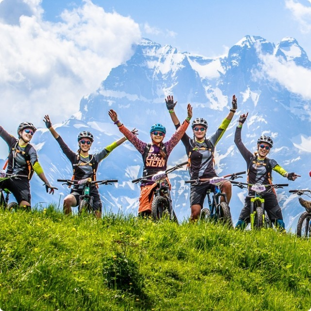 Mountain Bike Pass in summer in Châtel