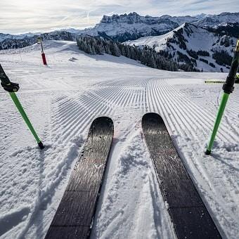 Ski equipment hire Chatel