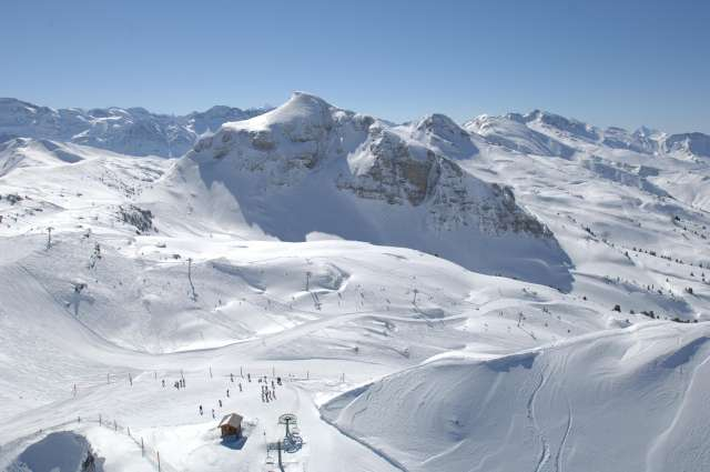 The skiing area