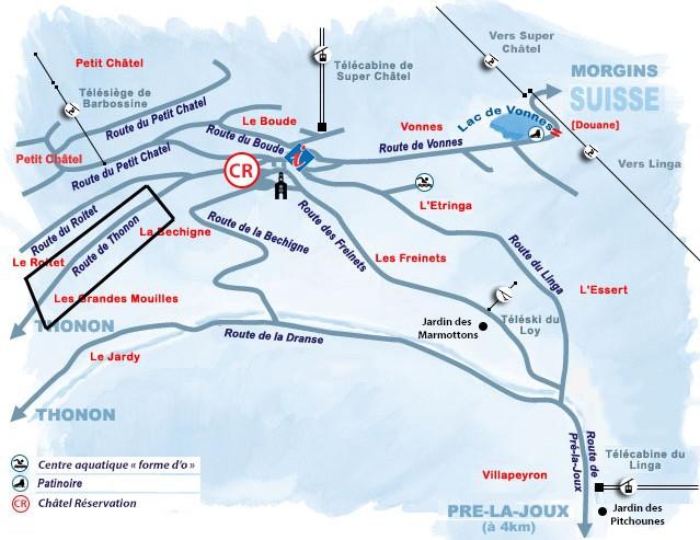 Grandes Mouilles / Route de Thonon