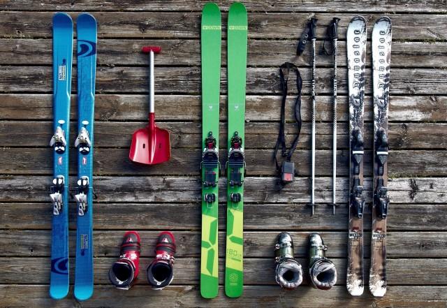 Materiel de ski