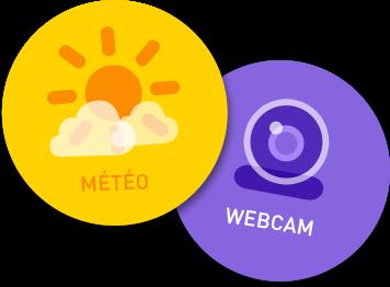 Weather forecast & webcam Chatel Summer