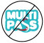 Not accredited Multipass accommodation