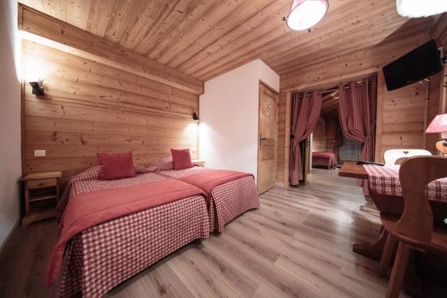 Hotel La Perdrix Blanche Châtel 74