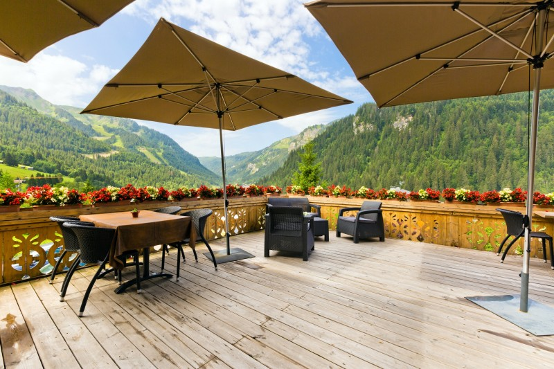 hotel booking le tremplin chatel ski bike