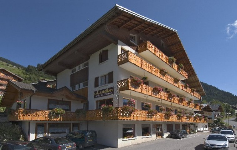 hotel castellan hotel deux etoiles chatel