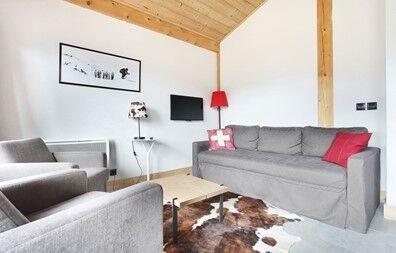 Châtel - Résidence Prestige Odalys Les Fermes de Châtel : Intérieur d'un logement