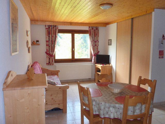 Location appartement ch tel etringa r sidence le blanchot 600 m de la t l cabine de super ch tel La cloison magnifique le coin salon