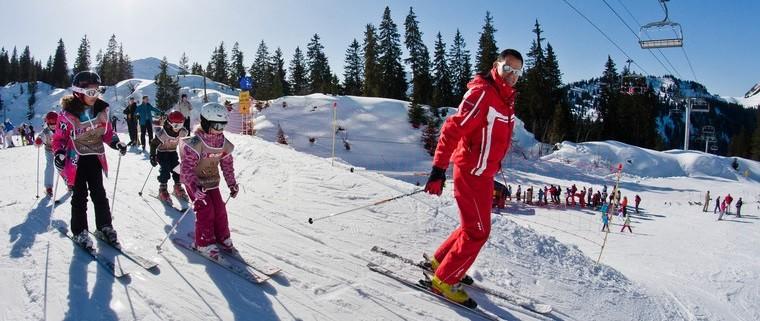 Faire du ski avec ESF Châtel dans Les Portes du Soleil