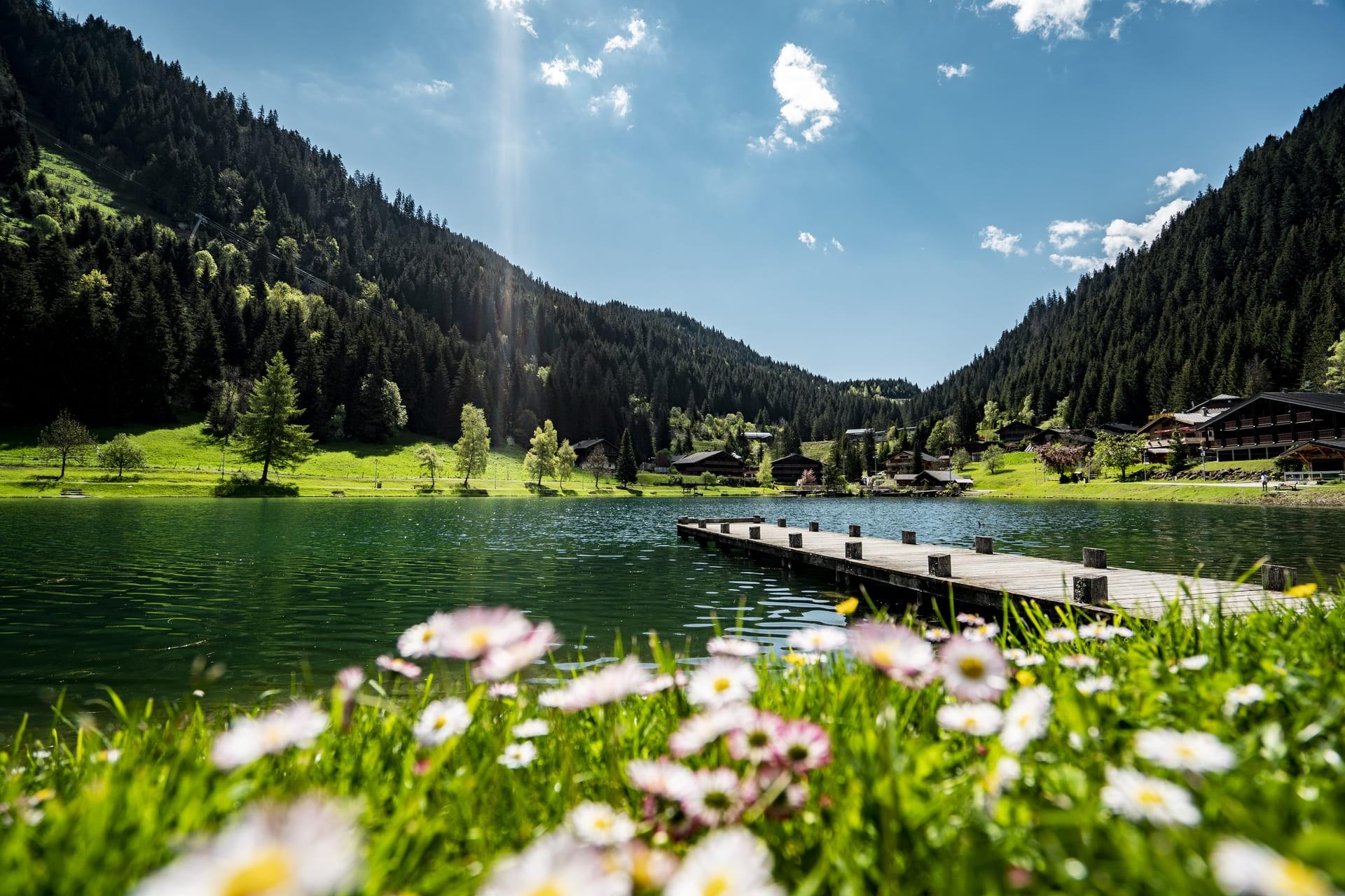 Lac de Vonnes Châtel ©lambert Meyer