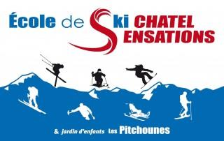 Cours de ski enfant Ecole de Ski Châtel Sensations Linga Châtel