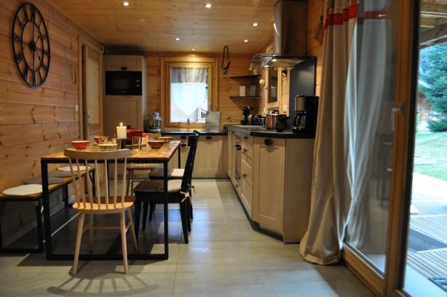appartement proche des pistes de Chatel