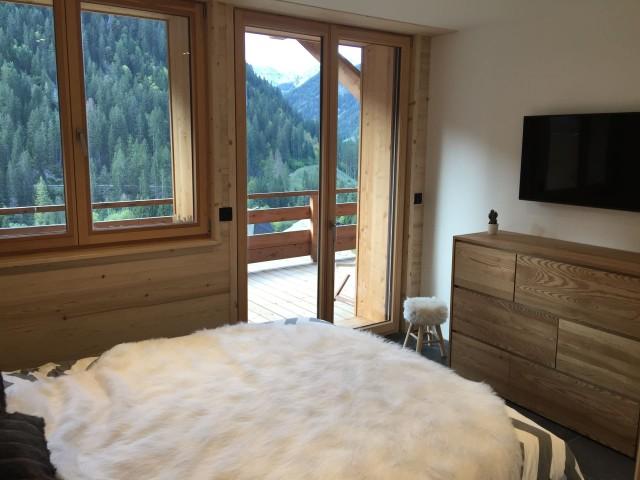 Appartement 103, résidence Bois Colombe, Chambre 1 lit double Châtel
