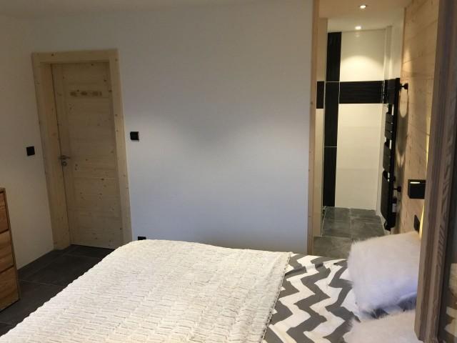 Appartement 103, résidence Bois Colombe, Chambre  1 lit double Châtel Haute Savoie
