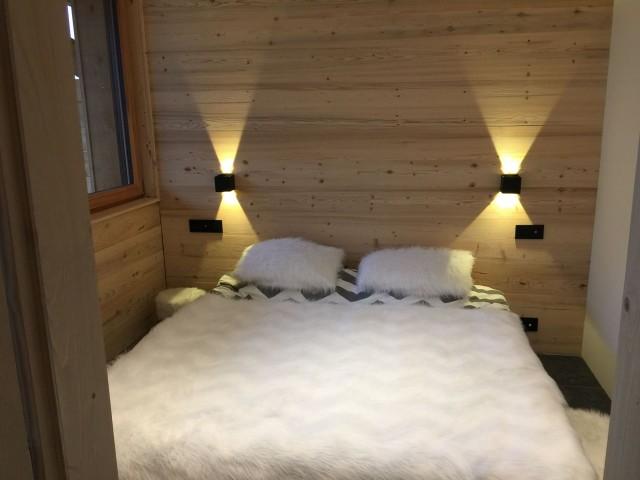 Appartement 103, résidence Bois Colombe, Chambre 2 lits simples + 2 lits superposés Châtel 74