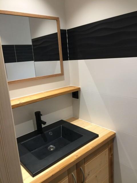 Appartement 103, résidence Bois Colombe, salle de douche Châtel