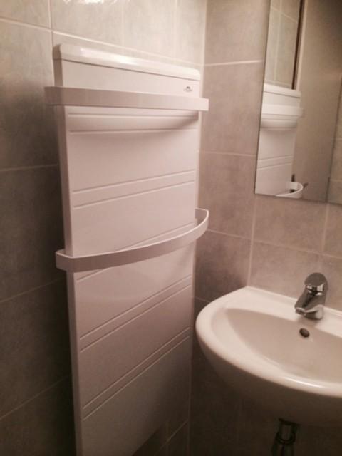Appartement 113 dans la résidence Hameau des 4 saisons Bat C, Salle de douche Châtel Haute Savoie