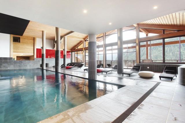 appartement 4 personnes Résidence piscine Ferme de Châtel