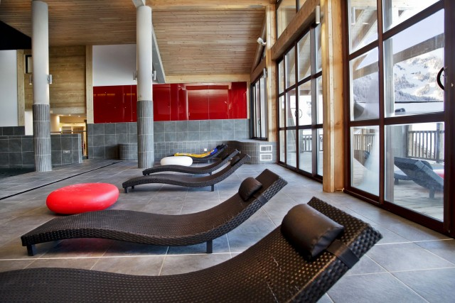 appartement 4 personnes Résidence piscine Ferme de Châtel Odalys