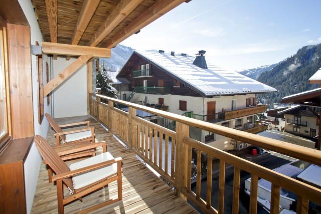 Appartement 6 couchages, Résidence Les Fermes de Châtel montagne