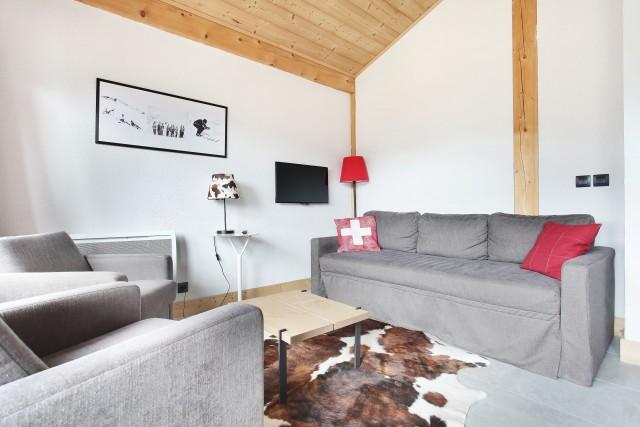 Appartement 6 couchages, Résidence Odalys Les Fermes de Châtel 74