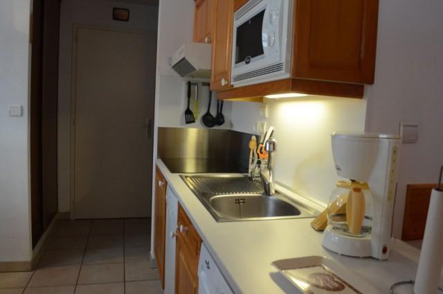 Appartement 6 dans la résidence les Praz, Cuisine Châtel
