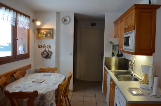 Appartement 6 dans la résidence les Praz, Cuisine Châtel Portes du Soleil