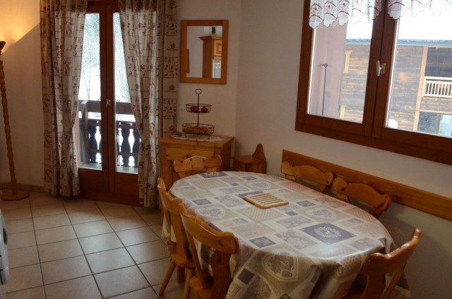 Appartement 6 dans la résidence les Praz, Salle à manger Châtel Haute Savoie