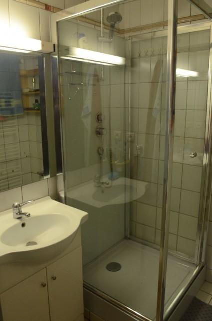 Appartement 6 dans la résidence les Praz, Salle de douche Châtel