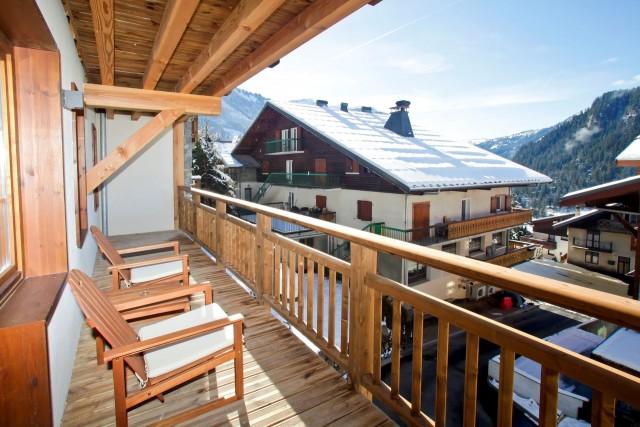 Appartement 6 personnes, Résidence piscine Les Fermes de Châtel hiver