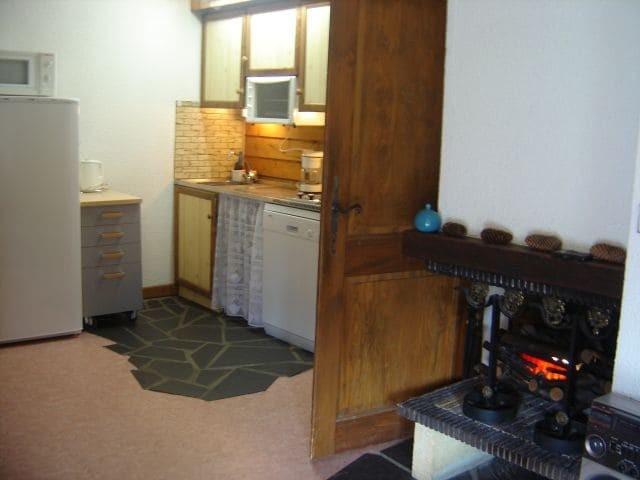Appartement 69 dans la résidence Yéti Bat 1, Cuisine Châtel