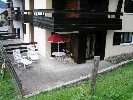 Appartement 69 dans la résidence Yéti Bat 1, Terrasse Châtel