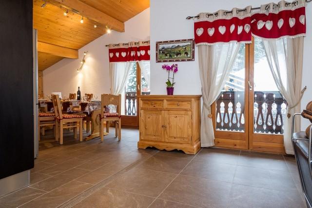 Appartement 7 personnes dans chalet Bernard Châtel Ski
