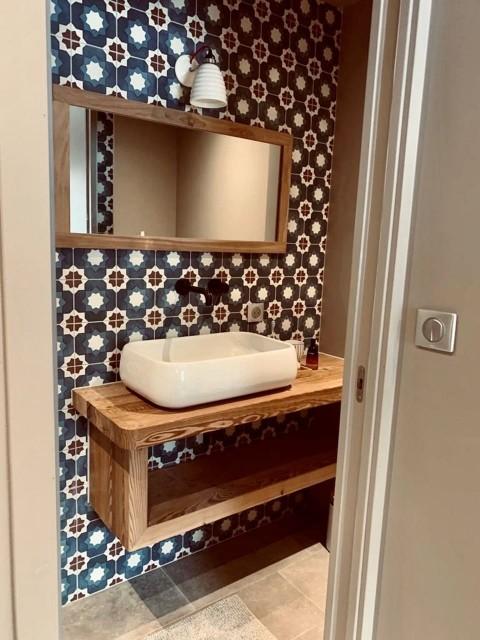 Appartement Chalet Cosy Mountain salle de bain Châtel