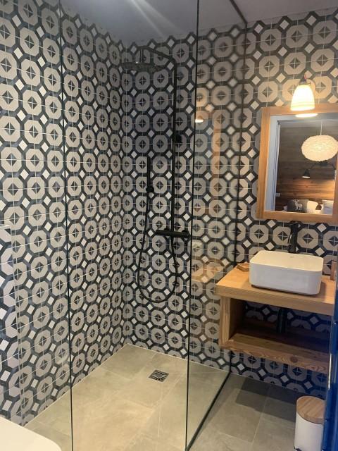 Appartement Chalet Cosy Mountain salle de bain Châtel 74