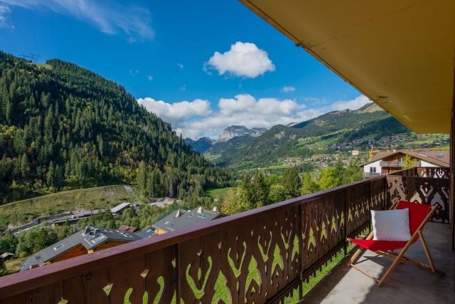 Appartement Chalet des 4 Saisons balcon Châtel