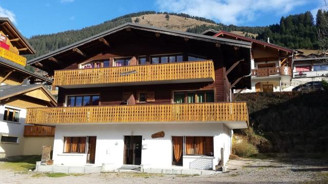 Appartement Choucas Blanc Chamois Extérieur Châtel