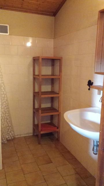 Appartement Choucas Blanc Chamois Salle de Douche Châtel