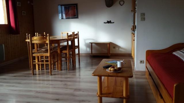 Appartement Choucas Blanc Chamois Séjour Châtel 2