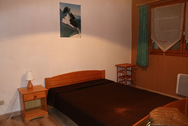 Appartement Choucas Blanc Edelweiss Chambre Châtel