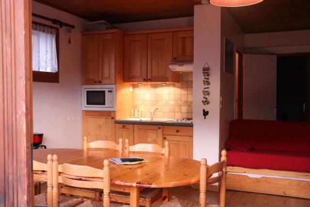 Appartement Choucas Blanc Gentianes Cuisine Châtel