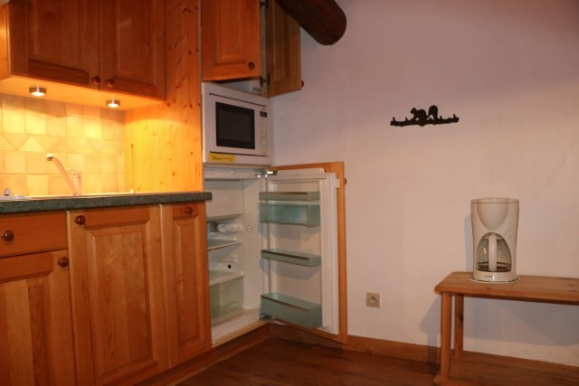 Appartement Choucas Blanc Marmotte Cuisine Châtel 2