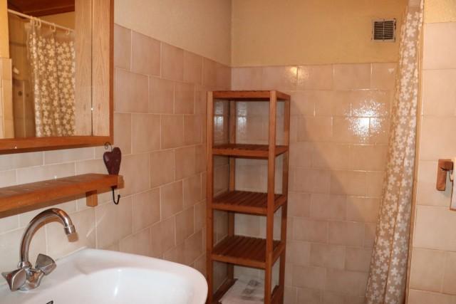 Appartement Choucas Blanc Marmotte Salle de Douche Châtel