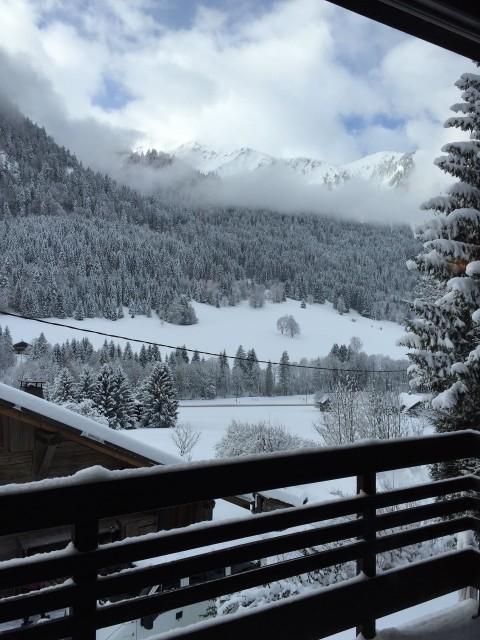 Appartement dans Chalet Ferme Marie Blanche Vue Châtel Montagne