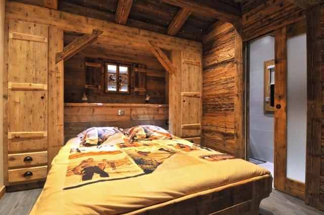 Appartement dans Chalet Imelda, Chambre  Châtel Haute-Savoie