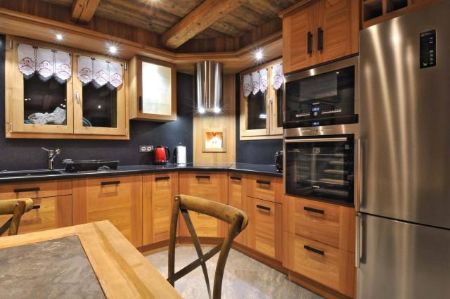 Appartement dans Chalet Imelda, Cuisine Châtel
